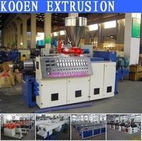 KOOEN offer pvc windows and door machine with low price