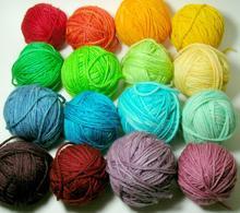 ring spun 100% polyester yarn