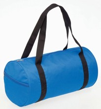 Round small travel bag,bag travel blue