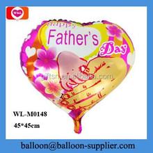 Happy Mother's day heart shape mylar balloon