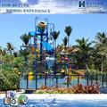 a água sldies combinação de equipamentos de diversão de água