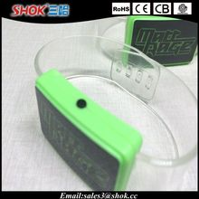 Good quality party supply led flashing bracelet