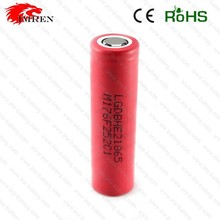 Rechargeable Batteries 18650 battey ,lg he2 18650 battery 35A 2500MAH high discharge
