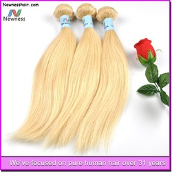 Alibaba.com In Russian Double Weft Clip In Human Lace Weft Extensions For Girl or Women