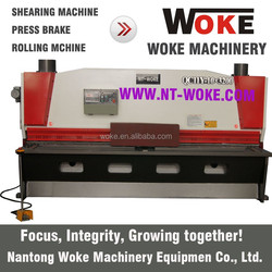 Made in China Hydraulic shearing machine, hydraulic guillotine shearing machine with QC11Y