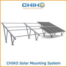 solar ground 2v frame support system