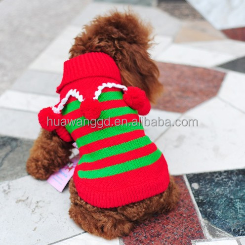 Knitting Patterns Christmas Dog Coats : Knitted Dog Coats,High Quality Christmas Sweater,Winter ...