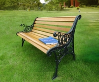 beautiful private garden high quality cast iron decorative outdoor benches