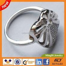 2015 Promotional Custom Wholesale Jewelry Platinum Price Sets Cheap Wedding Ring