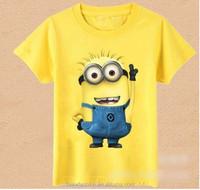 TF-04150731002 2015 new fashion children's T-shirt minion T -shirt