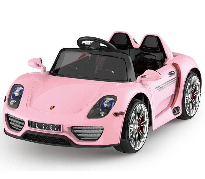 Toy Cars For Girls : Lovely pink color ride on car for girls volt kids
