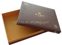 High quality lid and base paper box gift box packaging box