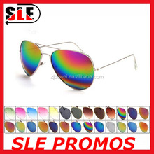 Mirror Lens Violet Acetate Sunglasses/Mens Womens Classic Aviator Mirror lens Vintage Pilot Sunglasses