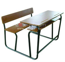 China Guangzhou Cheap School Desk and Chair,China Professional School Desk and Chair,Student Desk and Chair in Wood Material