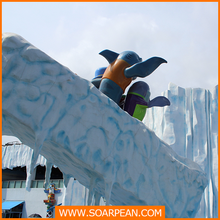 Vivid Statue Fairground Animal Decoration