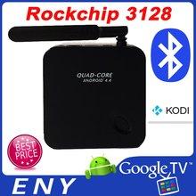 Rk3128 Quad - core ARM Cortex A7 android TV box EKB318 satellite récepteur supermax hd