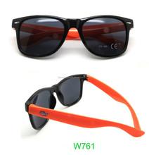 High Quality orange Classic Wayfarer Sunglasses for promotion