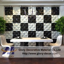 Internal decoration embossed effect decorative 3d wall panel