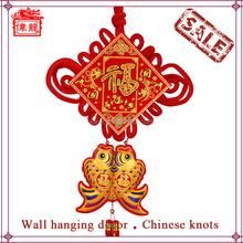 Folk Art Wall Hanging Gift Chinese Lucky Knot Tassel WL6110