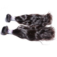 Hot Selling Products 2 Piece/Set, Natural Wave 20 Inch Cheap Virgin Brazilian Hair Weft