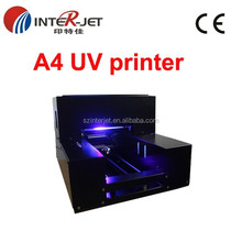 Factory price NEWEST 3d uv flatbed printer small format,uv flatbed printer plastic,uv led digital printer