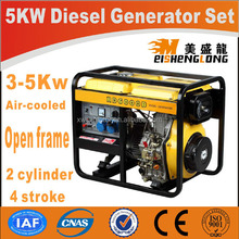 Hot sale! Silent diesel engine generator set genset CE ISO approved factory direct supply 12v 100w dc wind power generator