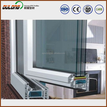 China brand factory direct pvc profile for windows and doors