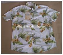 hombres camisa hawaiana <span class=keywords><strong>de</strong></span> manga corta