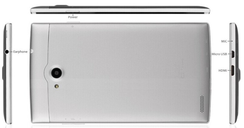 Планшетный ПК Chuwi VX1 3G MTK8382 Quad Core 7 IPS 1280 X 800 1GB 16GB HDMI Android 4.2 WCDMA GPS