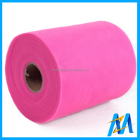 Quality Wholesale Tulle Rolls China Supplier Polyester Tulle Fabric Cheap 6 inch * 100 yards Tulle Roll