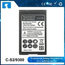 Original Capacity C-S2 8520 for Blackberry Curve 8520 Battery