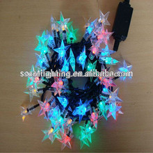 holiday lighting indoor outdoor led star light string