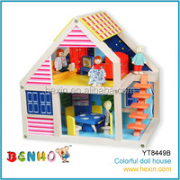 Doll House Model DIY Wooden House Toy