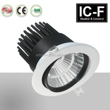 Power dimmable 30w cob led downlight with dmmable driver 3 years warranty led dimmable downlight