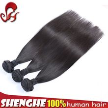 factory wholesale high quality virgin human hair cheap real human hair extensions