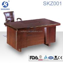 SKZ001 SAIKANG solid wood executive desk ,antique wood office desk furniture