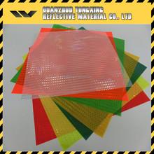 high quality transparent plastic reflective pvc sheets black