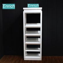 Men Shoes Shop Goods Shelf /Shoes Display Shelf/Wall Hanging White Showcase