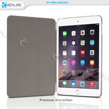 For ipad mini 4 case, leather case for ipad mini 4, clear back cover case