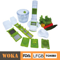 As Seen on TV Salad Crusher, Food Chopper and Slicer, Pull Salad Mixer