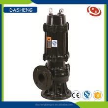 Hot sale cast iron sewage grinder centrifugal submersible pump