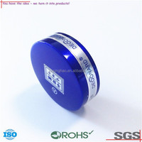 OEM ODM customized stamping parts manufacturer/new design Metal jar with lid of ISO9001 certificated