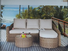 2015 United States Half Round Table with Coffee table Outdoor Patio Outdoor Furniture