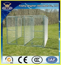 THE most popular design PVC coated cheap Chain Link dog kennel/ Chain Link Fence made in china