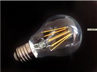 Newest g125 bulb 12w 1200LM led filament bulb Clear Glass 6mm