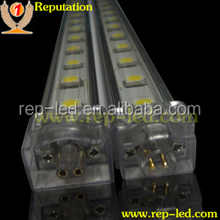 High brightness epistar 5050 12v silicone coated led rigid strips for cabinet light with 2 years warranty