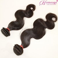 Homeage top selling virgin wholesale indian remy ocean wave hair
