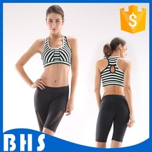 Custom yoga wear for women sport pants and bra set