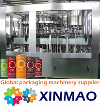Good quality canned drinks manufacturing equipment