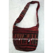 Cotton Canvas Boho Hobo Handcrafted Tote Hippie Indian Sling Cross Body Bag